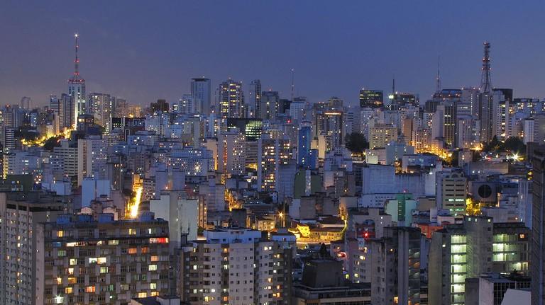 São Paulo skyline |©Júlio Boaro/WikiCommons