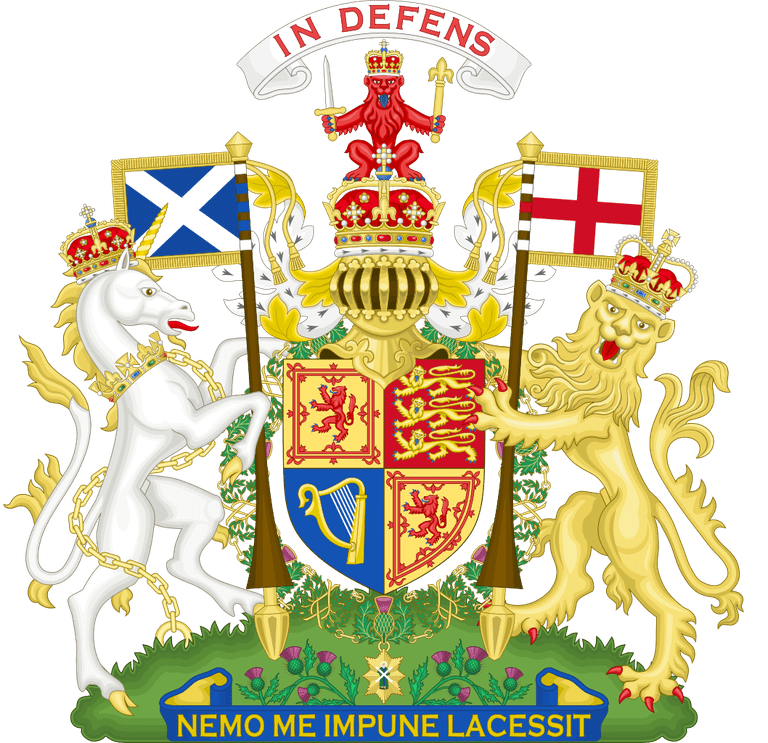 Royal Coat Of Arms Used In Scotland | © WikiCommons