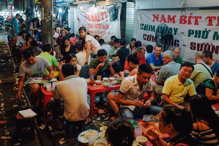 Vietnam street food scene