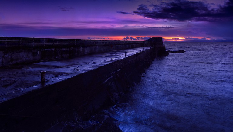 Gloaming Sunset At Saltcoats Harbour | © Robert Brown / Flickr