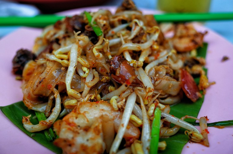 Nationally-famous Penang Char Kuey Teow