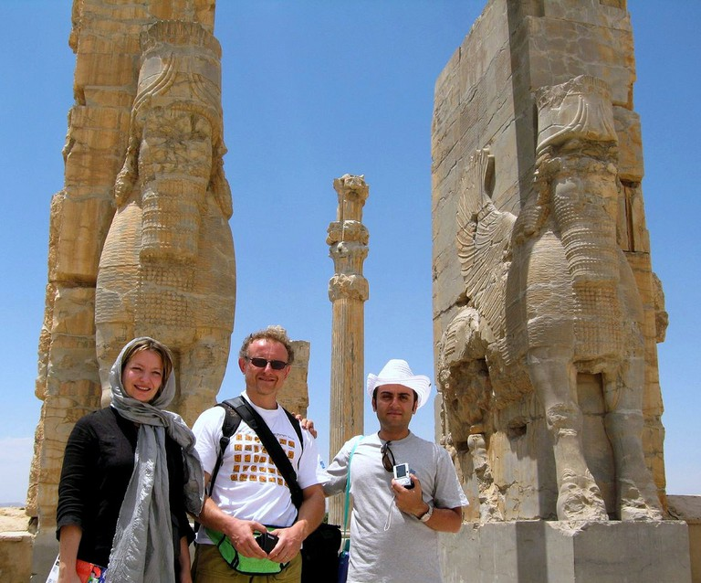 Visitors tour Persepolis | © Fulvio Spada / Flickr