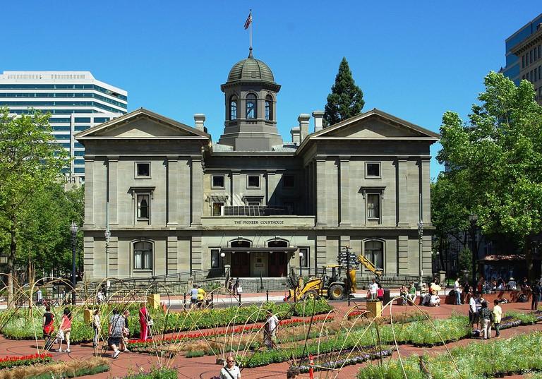 Pioneer Courthouse – Portland, Oregon | © M.O. Stevens/Wikimedia