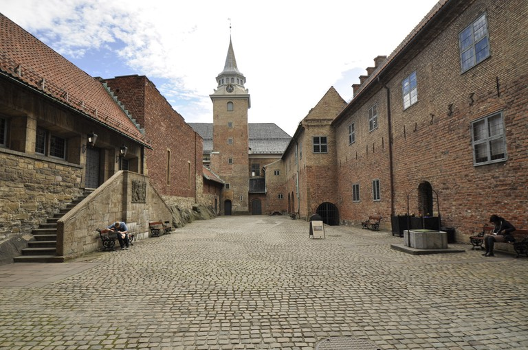 Inner court at Akershus fortress