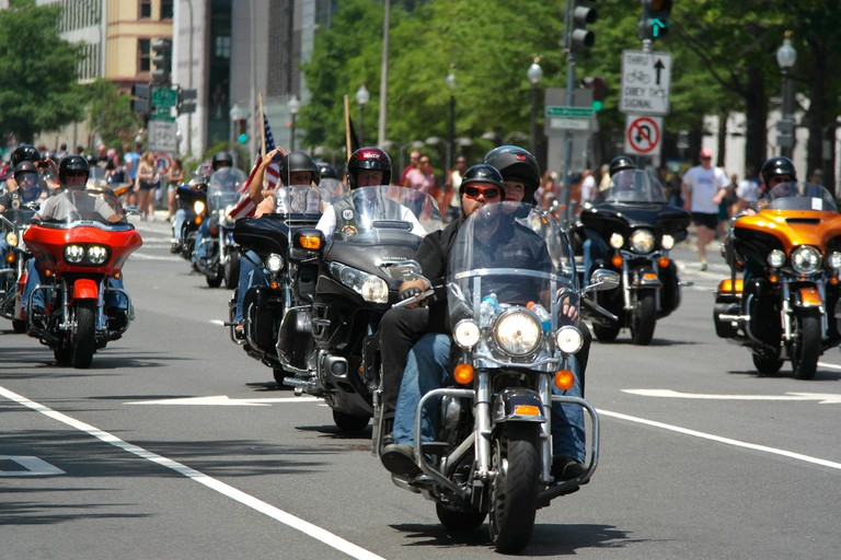 Rolling Thunder rally