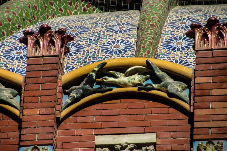 Tiling on the Mercado de Colon, Valencia | © Jocelyn Kinghorn/Flickr