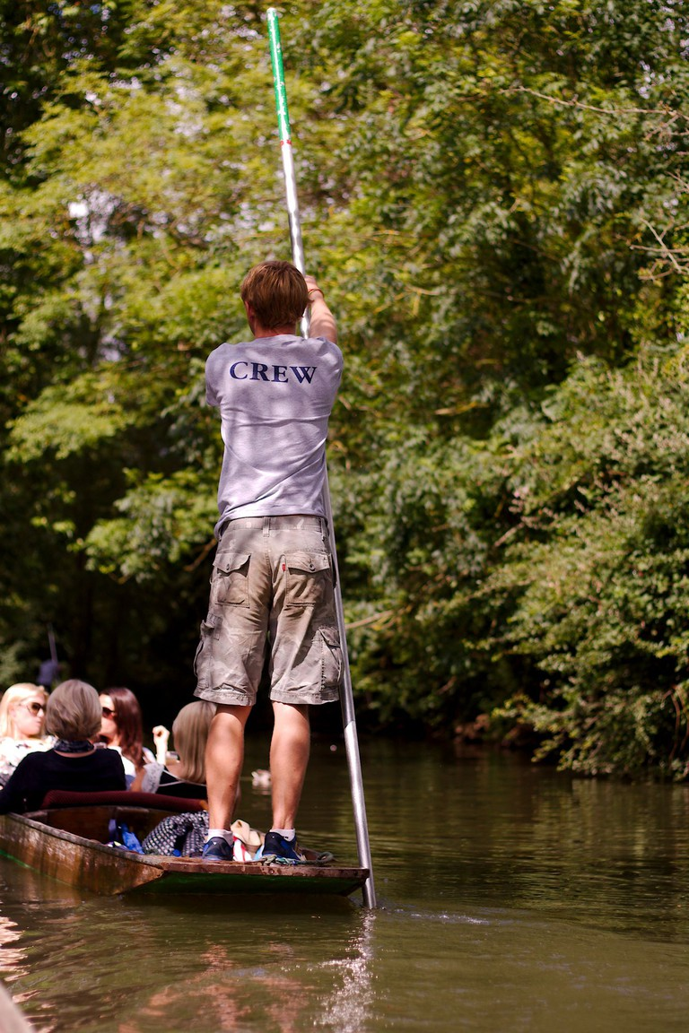 Punting on the river | © Delaina Haslam/Flickr