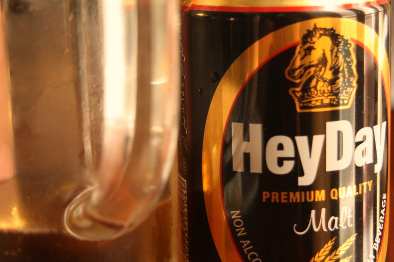 The only beer you'll find in public is non-alcoholic. HeyDay is a popular brand | © Blondinrikard Fröberg / Flickr