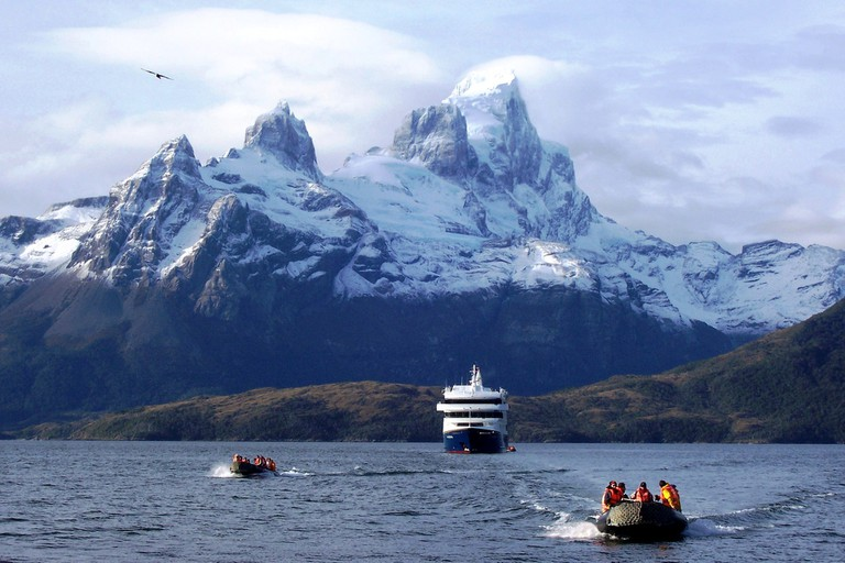 Fjords in Chile