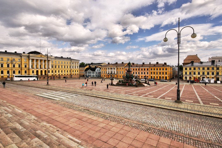 The senate square as seen from the cathedral steps/ Miguel Virkkunen Carvalho/ Flickr