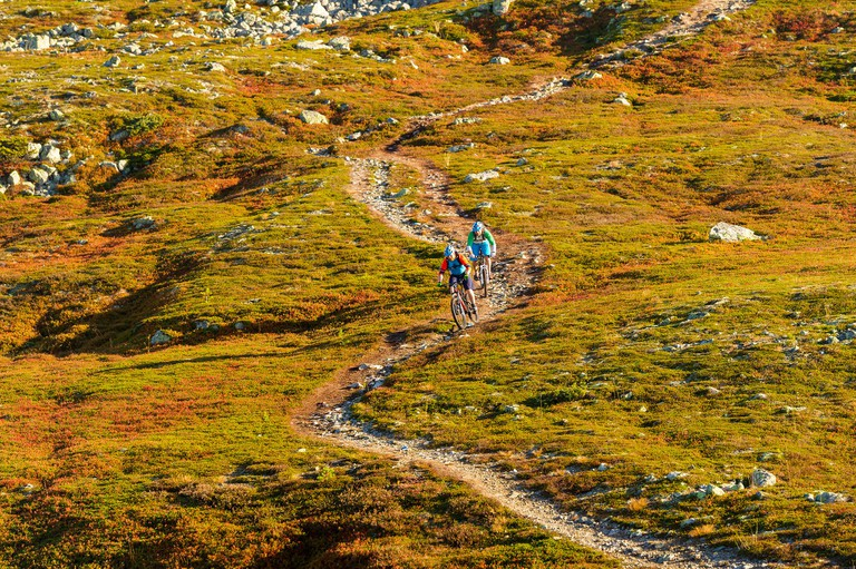 Cycling in Trysil