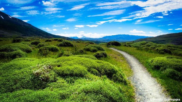 Trek beautiful landscapes