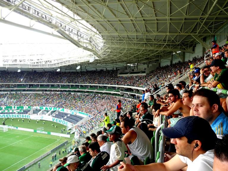 Palmeiras supporters, Allianz Parque