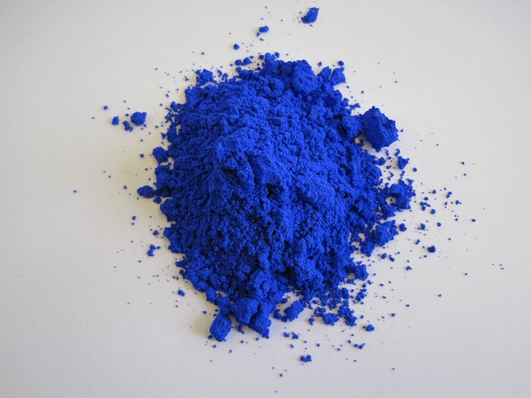 Blue Pigment | © Oregon State University