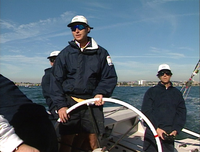 Kevin Mahaney was named Rolex Yachtsman of the Year in 1992.