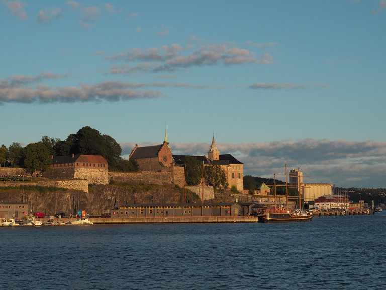 Akershus Fortress from the Oslo Fjord