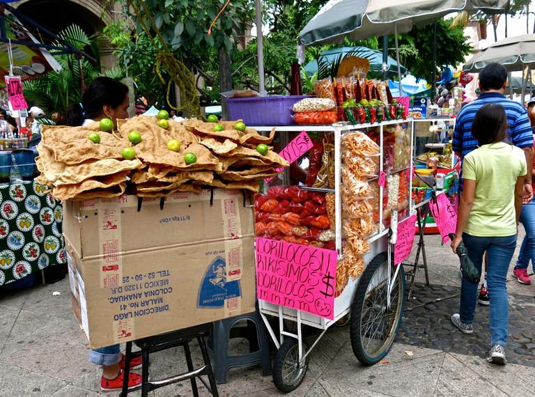 A Dorilocos vendor