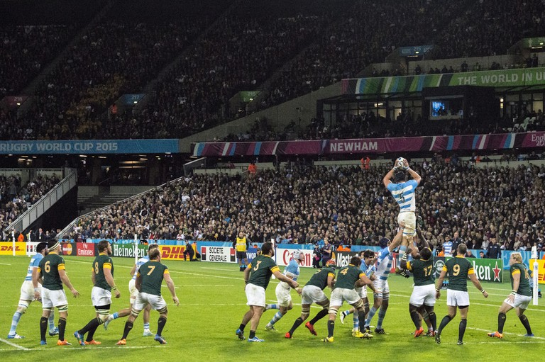 South Africa versus Argentina, Rugby World Cup 2015