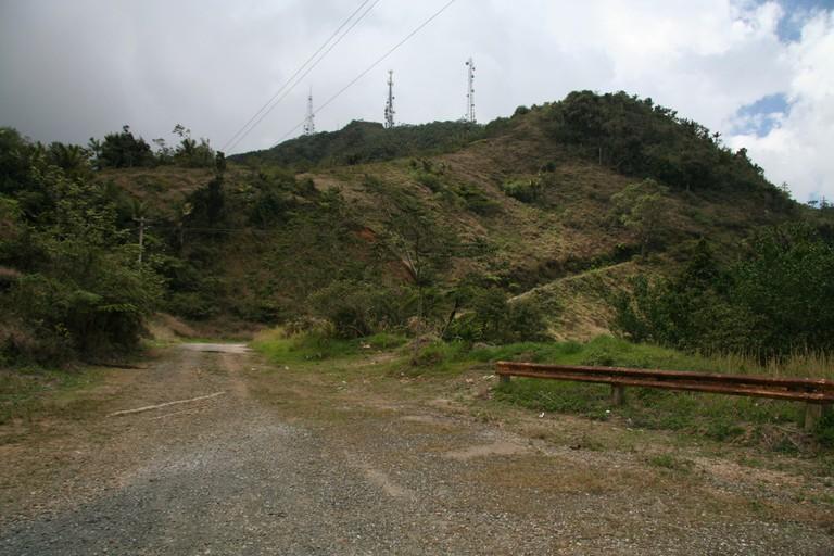 Part of the road to Cerro Punta