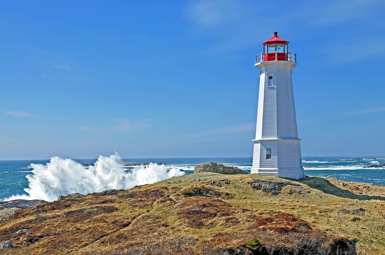 Louisbourg Lighthouse, North America