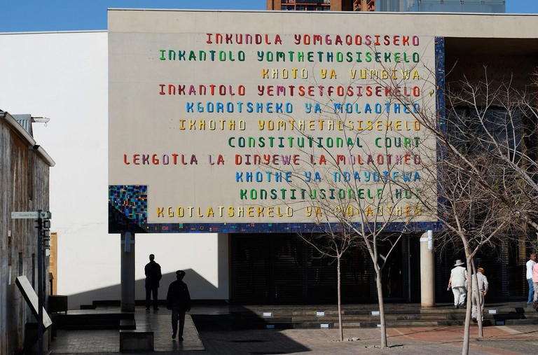 The South African Constitutional Court houses amazing artworks by prominent local artists