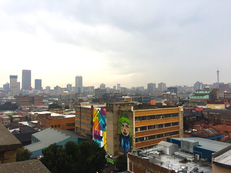 Don't forget to pay attention to Johannesburg's street art