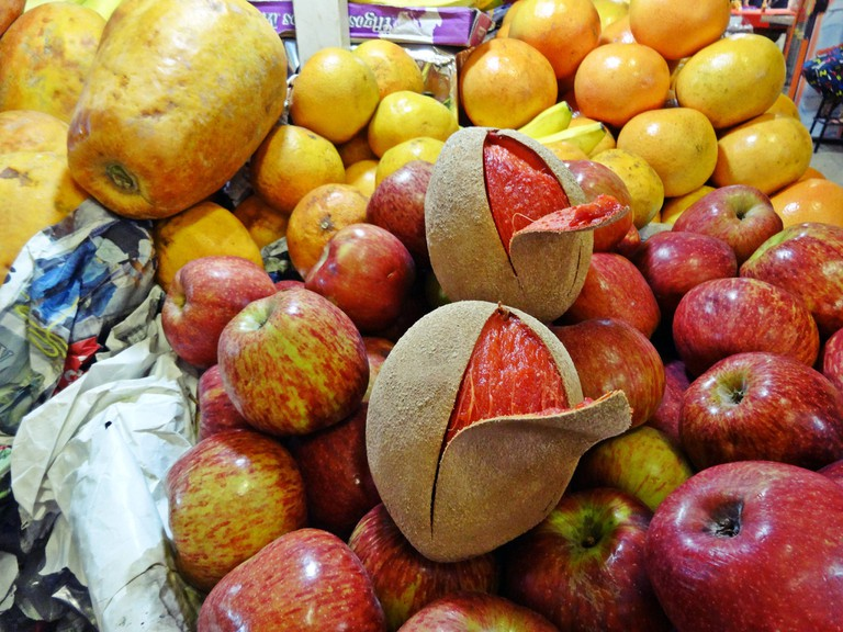 Fresh fruit in a Mexican market