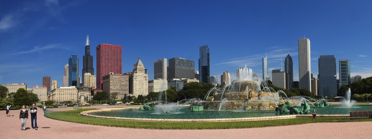 Buckingham Fountain in Grant Park | © Tomošius/Flickr