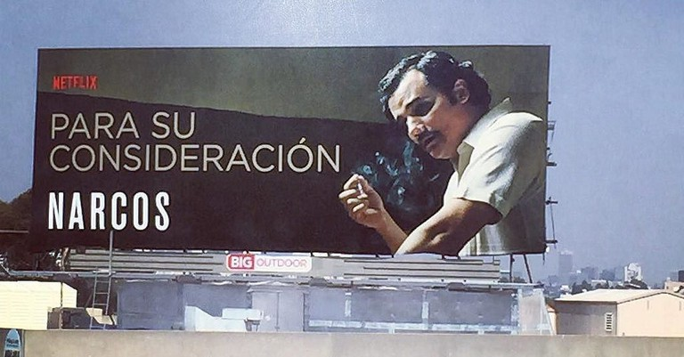 Narcos billboard