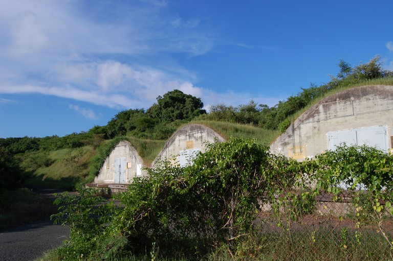 Abandoned, Bunker, The Naval Ammunition Facility (NAF), Vieques