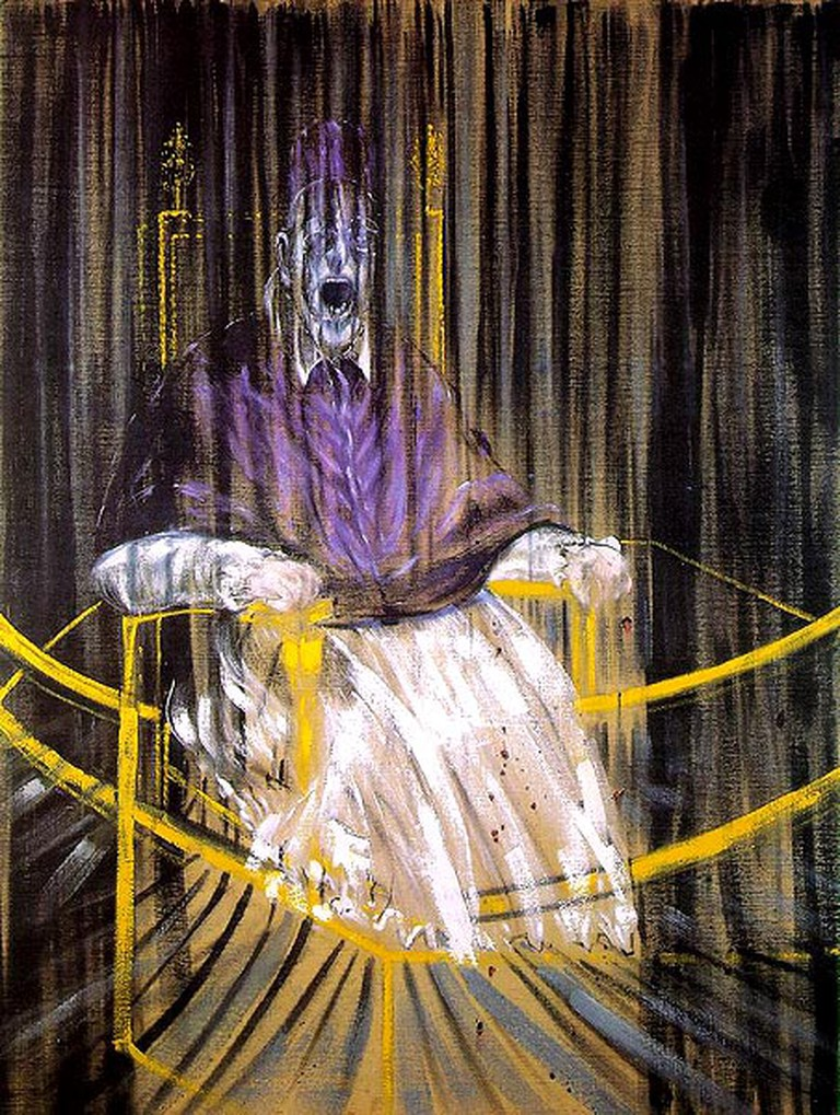 Francis Bacon, Study after Velazquez's Portrait of Pope Innocent X Painting | © libby rosof/Flickr