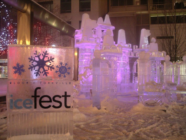 Icefest in Yorkville