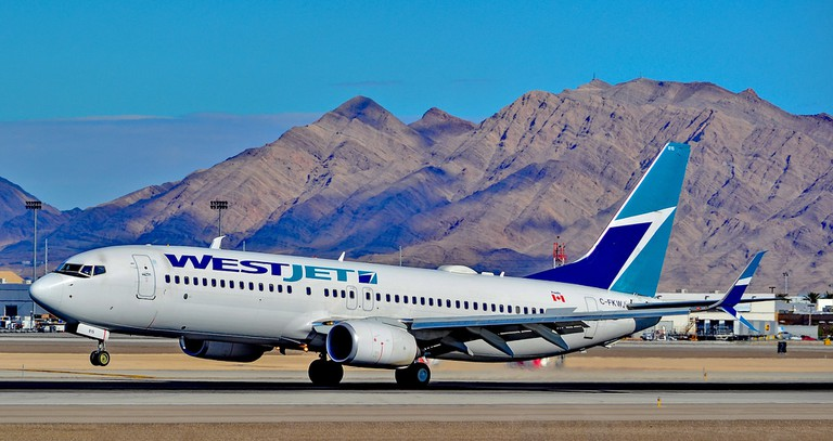 Fly with Westjet