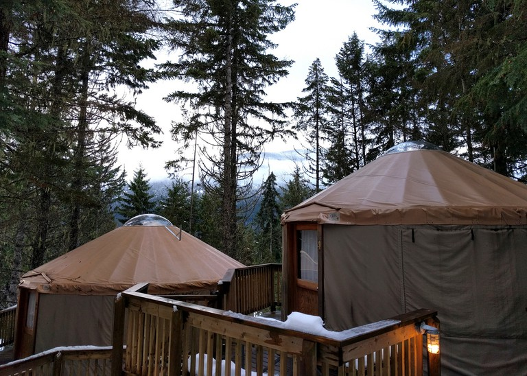 Glamping in Yurts in Canada
