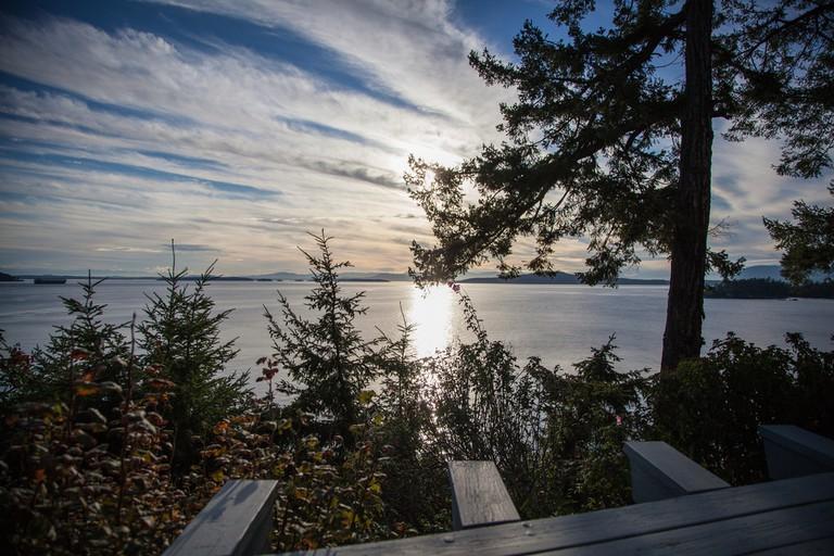Pender Island's waterfront views