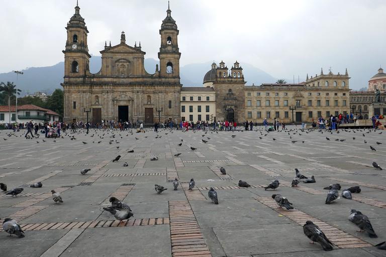 Plaza De Bolivar en La Candelaria | © Leah Jones/Flickr