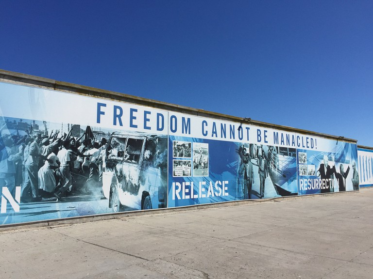 Mural on Robben Island