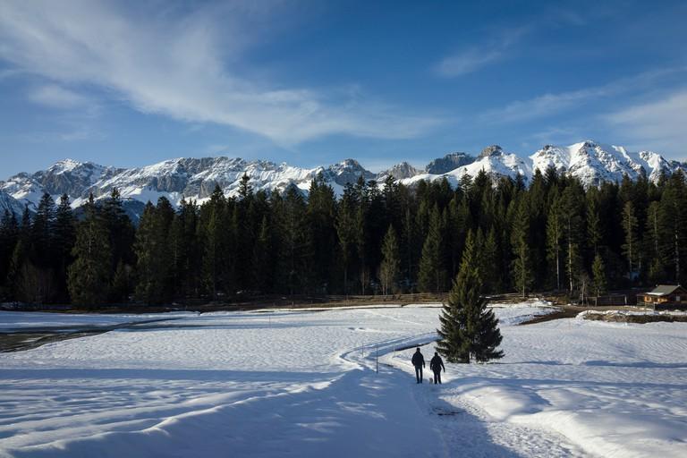 Tirolean mountains