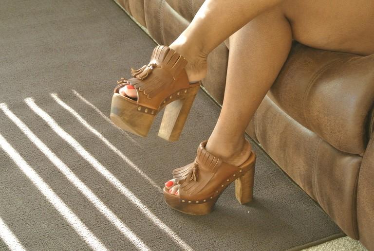 Footwear from Zara © Lisa Taylor