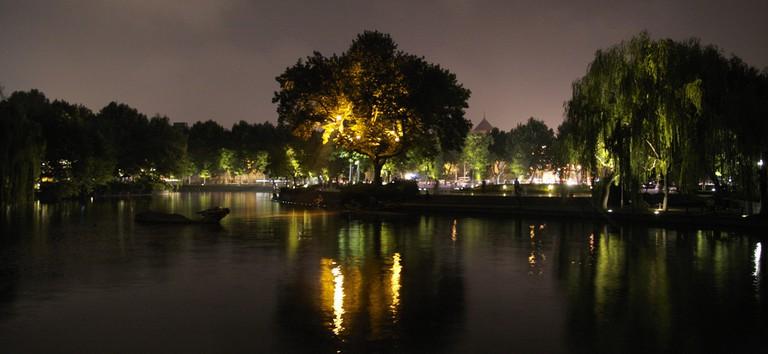 West Lake by night I