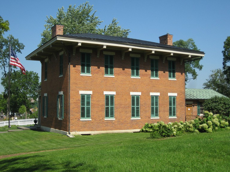 The U. S. Grant Home | © Richie Diesterheft/Flickr