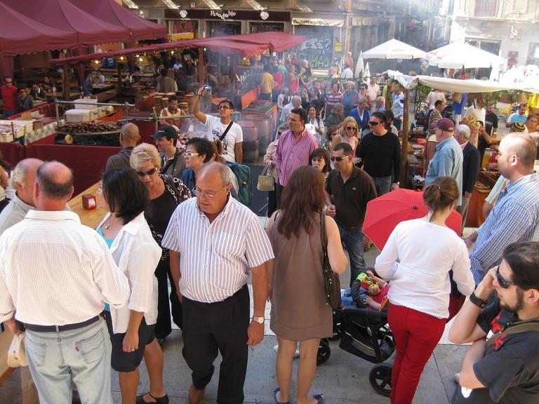 Granada's medieval market