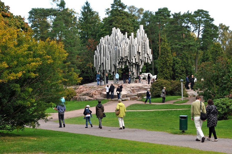The monument in Sibelius Park/ Dennis Jarvis/ Flickr
