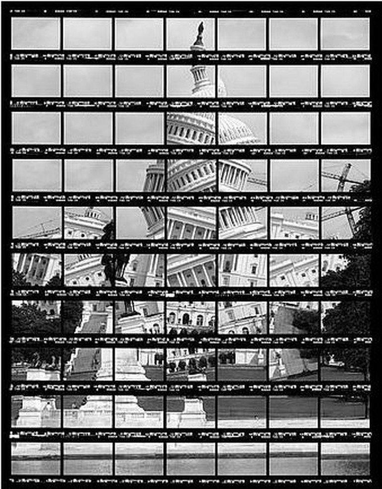 Black and White: 41#02, Washington, Capitol, 2004, BW-Print, 26,8 x 35,2 cm | © Thomas Kellner