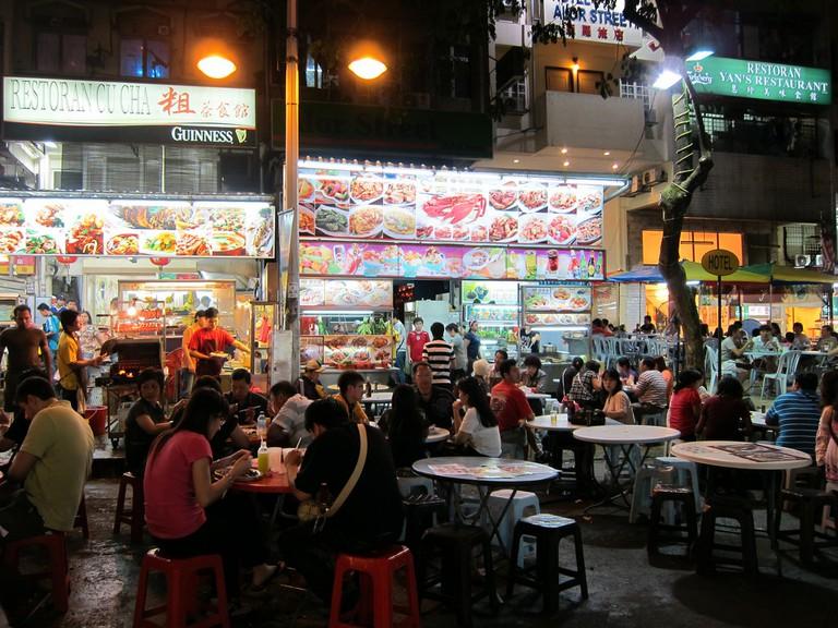 Choices galore at Jalan Alor