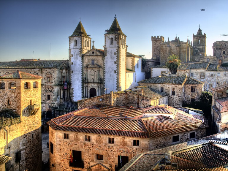 The historic centre of Cáceres