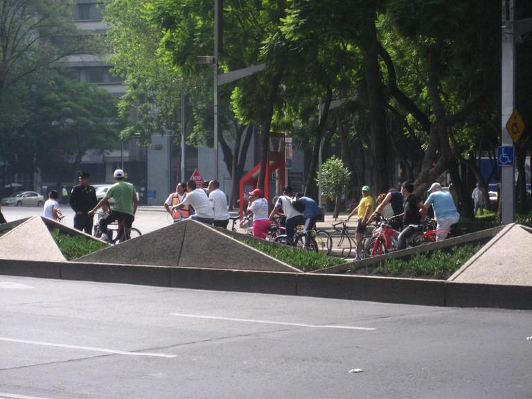 Reforma bike ride