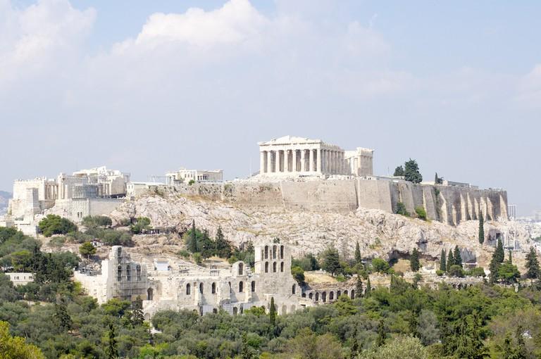 The Acropolis overlooking Athens © Aleksandr Zykov