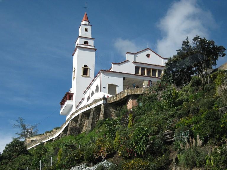 Monserrate Cathedral, Bogotá