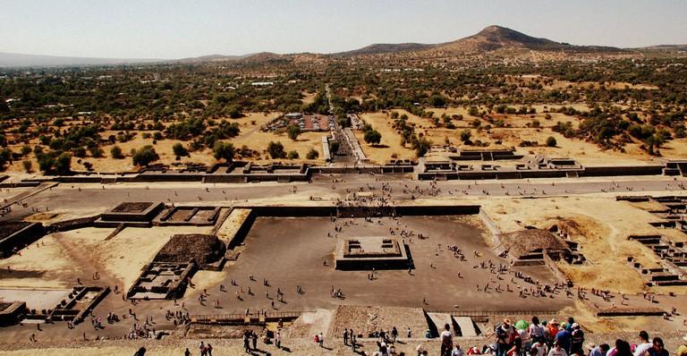 Sunbaked Teotihuacán